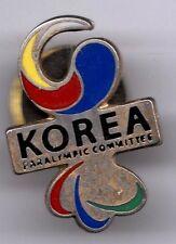 RIO 2016. PARALYMPIC GAMES. NOC PIN.KOREA