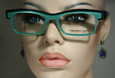 New NEOSTYLE 'ICAN 108' Unique Bold Exotic Tea Green Glasses Frames Womens Large