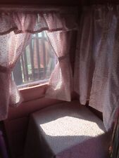 New Ditsy pink and grey flower🌸🌺den playhouse,Wendy/summer house curtains