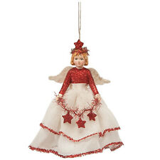 Bethany Lowe Storybook Angel Girl Christmas Tree Ornament Vintage Style Decor
