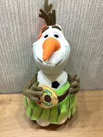 Disney Frozen Olaf Plush 12 Inch Soft Toy  Collectable Snowman Hula Guitar