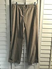 ETRO Wool light brown Casual Dress Pants Size 40 italy US 4