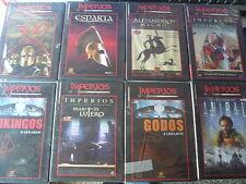 COLECCION LOTE  DE 9  DVD  IMPERIOS BBC, CANAL HISTORIA ( NUEVOS PRECINTADOS )