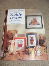 Cross Stitcher Magazine's Book of Teddy Bears in Cross Stitch HB sewing crafts
