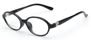 New Child Children Girl Boy Myopia SPRING Black Eyeglass Frame Oval Glasses Rx