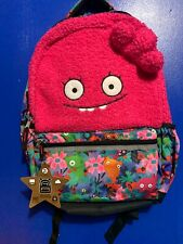 "Ugly Dolls ""Halfway Gorgeous"" Pink School Backpack Book Bag Moxy New with Tags"
