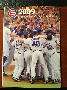 2009 Chicago Cubs Schedule