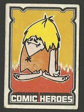 The Gruesomes Hanna Barbera Scarce Vintage UK Comic Cartoon Sticker Card