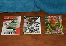 COMMANDO War Comic ~ 3 Very Rare Special Editions ~ D-Day 65 ~ 50 years Commando