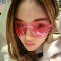 Women Cat Eye Transparent Candy Sunglasses Sun Shades Men Luxury 9 Colors New