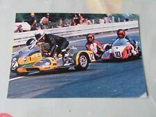 Georg O'DELL Geert HUT etc 1976 Motor Cycle Road Racing Postcard by Vanderhout
