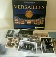 """BOOK OF VERSAILLES """"The Footsteps of Kings"""" by Pierre-Jean Remy Published, Grund"""