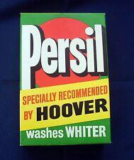 Rare Vintage Unopened Persil Washing Powder Packet C1960s - Hoover Machines