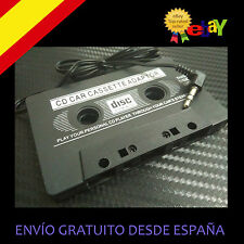 CINTA COCHE RADIO CASSETE A Jack AUXILIAR para IPOD MP3 IPhone 3.5mm AMSTRAD CPC