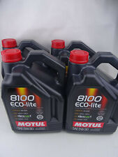 Motul Eco-lite 5w-30 100 Sintético 5w30 5liter combustible sistema Clean