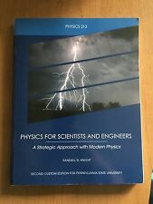 PHYS 212 Penn State Custom Edition Physics for Scientists and Engineers Textbook