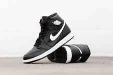 2016 Nike Air Jordan 1 Retro High OG SZ 10.5 White Black Yin Yang Red 555088-011