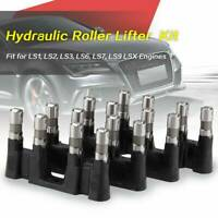 Hydraulic Roller Lifters Set 16 +4 Trays/Guide For Chevy 5.3 5.7 6.0 LS1 LS2 LS7