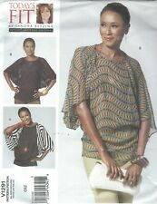 Vogue 1291 Misses' Top Sewing Pattern