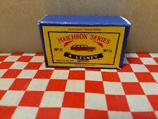 Matchbox  Moko Lesney No31 Ford Station Wagon, Reproduction Box