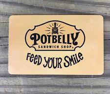 POTBELLY SANDWICH SHOP GIFT CARD, No Value