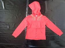 Sweat zippé rouge 8 ans - La Compagnie des Petits - TBE