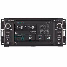 "6.2"" Car Radio DVD GPS Stereo Sat For Jeep Grand Cherokee Compass Dodge Chrysler"
