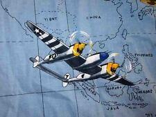 B-17 B-24 P-38 WWII Pacific bombers fighters Hawaiian shirt MEDIUM by Max Boxxer
