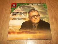 ESD 7029 SHOSTAKOVITCH SYMPHONY NO. 5 PAAVO BERGLUND ~ HMV VINYL LP EX/EX 1976