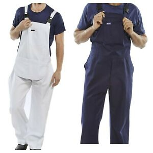 Bib and Brace Overalls Painters and Decorators Work Trousers