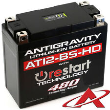 NEW Antigravity RE-START AT12-BS HEAVY DUTY Stock Case 12 Cell 480 CCA Battery