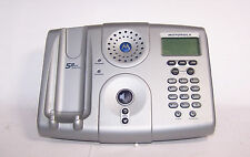 motorola md671 5.8 ghz cordless spk phone main base with caller id & key pad