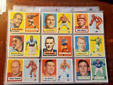 1957 Topps fútbol (Lote de 45 tarjetas) tarjetas están justo De Paquete!!!