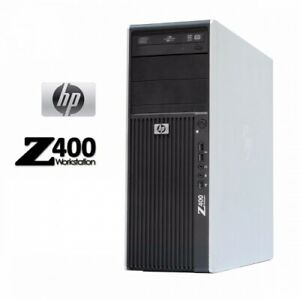 STATION TRAVAIL HP Z400 XEON QUAD CORE W3580 4 GO Radeon HD 7450 500 GO  DVDRW