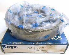 KOYO, BALL BEARING, 6411C3, 55MM ID, 140MM OD, 33MM WIDTH