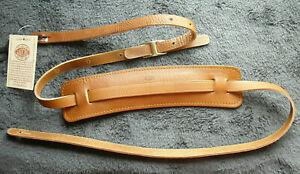 Gitarrengurt Gaucho Vintage Leather Strap braun