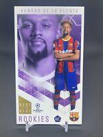 2020-21 Topps UEFA Soccer Best of the Best Konrad De La Fuente Barcelona RC