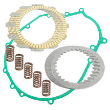CLUTCH FRICTION PLATES and GASKET KIT Fits KAWASAKI EN450A 454 LTD 1985-1990
