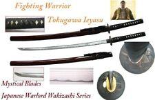Handmade Battle Ready Sharp Japanese Samurai Tokugawa Ieyasu Wakizashi Katana