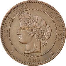 Monnaies, IIIème République, 10 Centimes Cérès 1889 A, KM 815.1 #82566