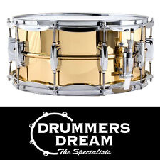 """Ludwig 14"""" x 6.5"""" Bronze Shell Supraphonic Snare Drum w/Imperial Lugs RRP $1499"""