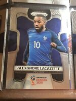 Alexander Lacazette Panini Prizm World Cup 2018 France Football Soccer Card
