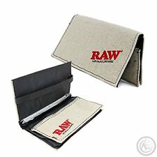 RAW Tobacco Wallet Pouch Hemp Kingsize Paper Holder Free Delivery
