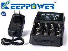 Keeppower L4 - Ladegerät für Li-Ion 3,6V - 3,7V und NIMH 1,5V Akkus