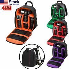 Digital Camera Waterproof Shoulder Bag Sling Backpack for Canon Nikon Sony DSLR