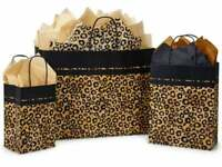 LEOPARD SAFARI Design Party Gift Paper Bag ONLY Choose Size & Pack Amount