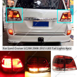 Update to 2016 Model LED Tail Lamps For Toyota Land Cruiser 2008-2015 Right&Left