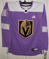 Vegas Golden Knights adidas Hocey Fight Cancer Authentic Pro Jersey 46 s e136f7f68
