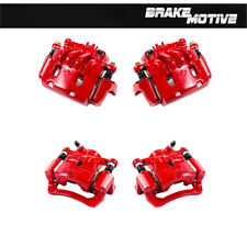 Front And Rear Red Brake Calipers For Subaru Forester Impreza WRX