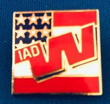 Western Airlines IAD Dulles Pin - Enamel Cloisonné